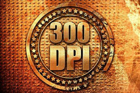 300 dpi, 3D rendering, grunge metal text