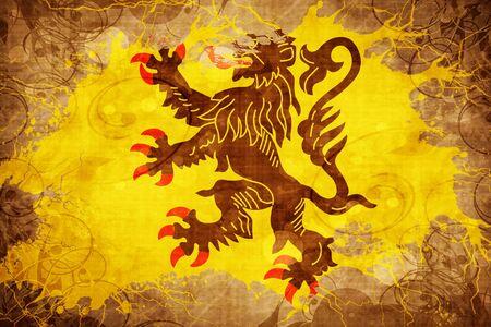 calais: Vintage Nord pas de calais flag