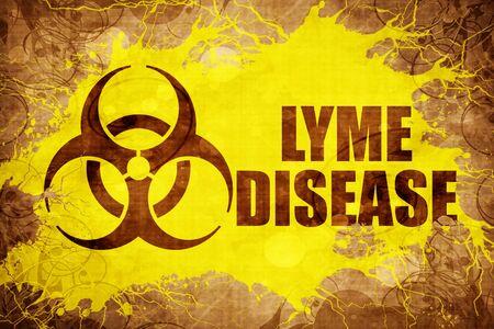 Grunge vintage Lyme disease