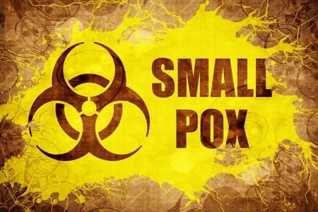 smallpox: Grunge vintage Smallpox Stock Photo