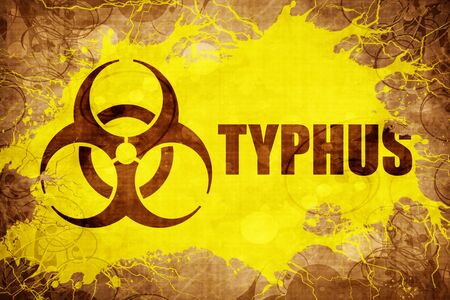 typhus: Grunge vintage Typhus