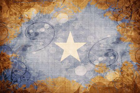 somalia: Grunge vintage Somalia flag