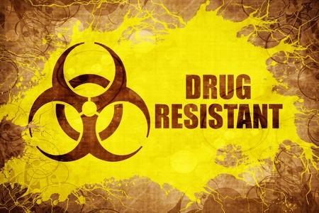 Grunge vintage Droga resistente