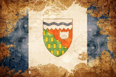 territories: Grunge vintage Northwest territories