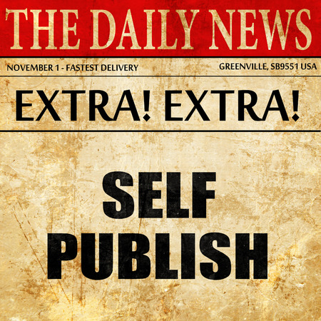 self publishing, newspaper article text