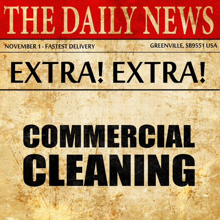 charlady: commercial cleaning, newspaper article text