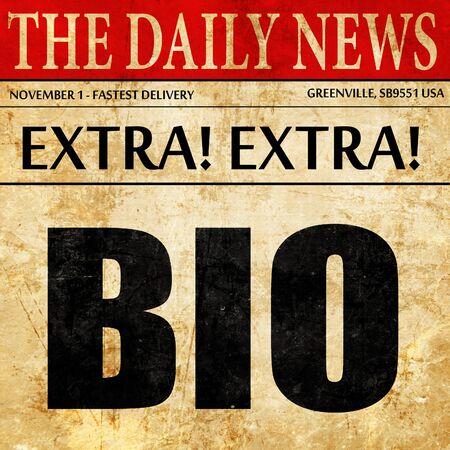 chemical warfare: bio, newspaper article text