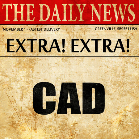 cad: cad, article text in newspaper
