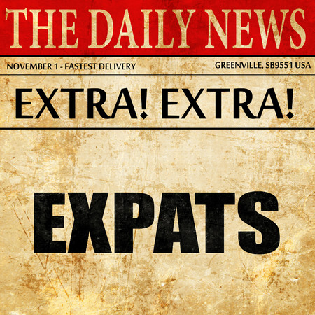 globetrotter: expats, article text in newspaper
