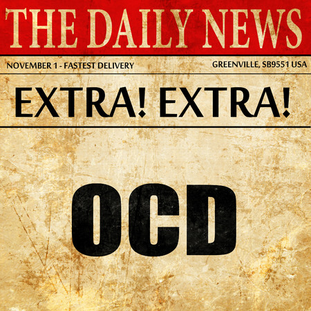 ocd: ocd, article text in newspaper