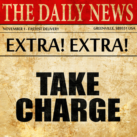 take charge: take charge, article text in newspaper