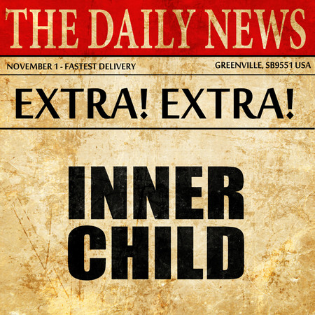 psicologia infantil: inner child, article text in newspaper