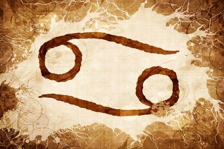 worn paper: cancer zodiac sign