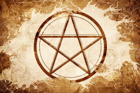 pentagram Stock Photo