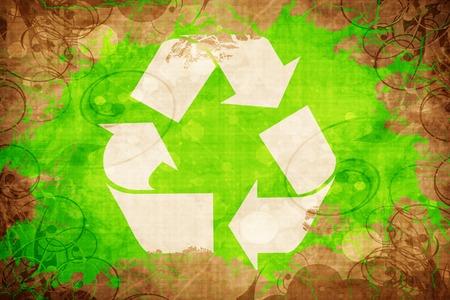 recycle sign Reklamní fotografie