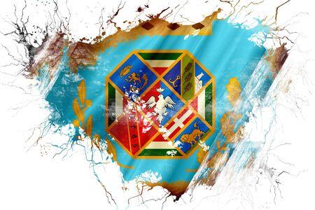 lazio: Grunge old Lazio flag