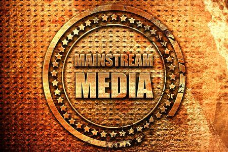 主流メディア、3 D レンダリング、金属本文