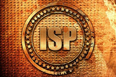 isp: isp, 3D rendering, metal text