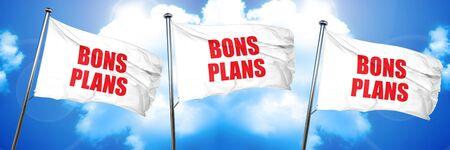 bons plans, 3D rendering, triple flags