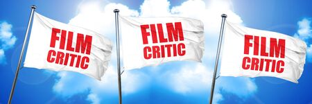 users video: film critic, 3D rendering, triple flags