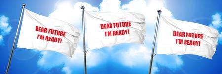dear future im ready, 3D rendering, triple flags