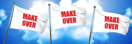 makeover: makeover, 3D rendering, triple flags