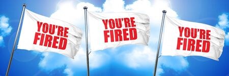 youre fired, 3D rendering, triple flags