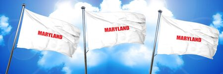 maryland, 3D rendering, triple flags