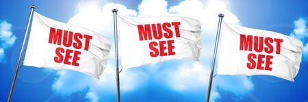 must see, 3D rendering, triple flags