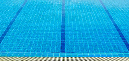 empty swimming pool with many lanes photo