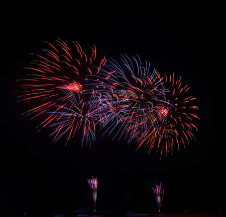 A large Fireworks Display  photo