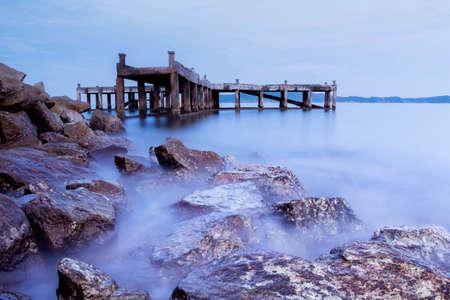 sea scape: Sea scape at national park Khao Leam Ya - Mu Ko Samet Rayong