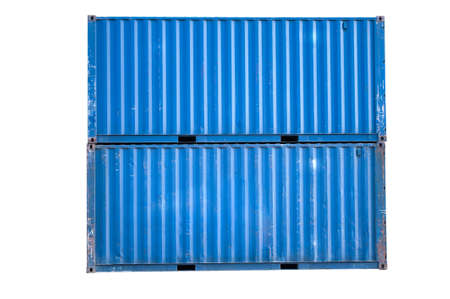 Old container Stock Photo