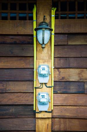 watt: watt hour electric meter measurement tool home and lamp