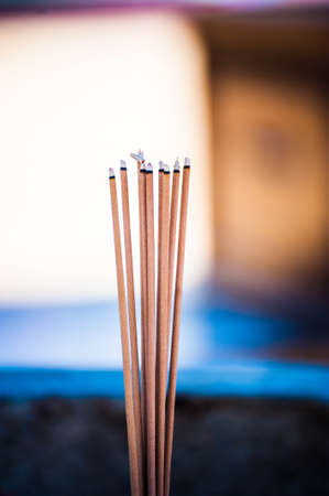 joss: Fire on joss stick