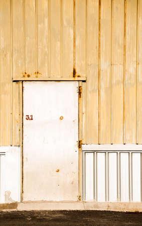 Metal door background photo