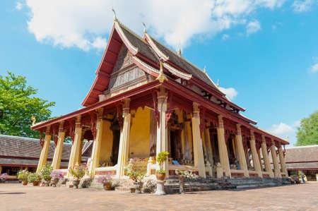 Wat Si Saket, Vientiane, Laos, Southeast Asia