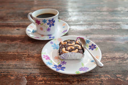 slurp: Brownie with Coffee Cup