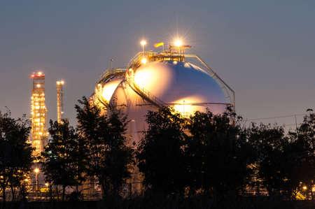 liquefied: Natural Gas Tanks