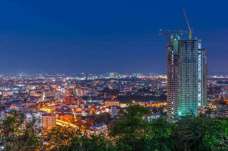 chonburi: Pattaya city at chonburi thailand