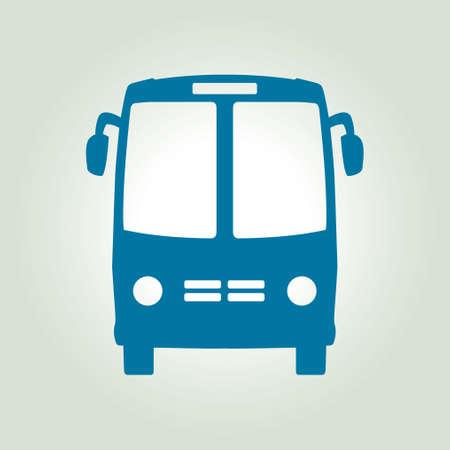 tourists stop: Bus icon. Schoolbus symbol. International tourist traffic. Comfortable vehicles.