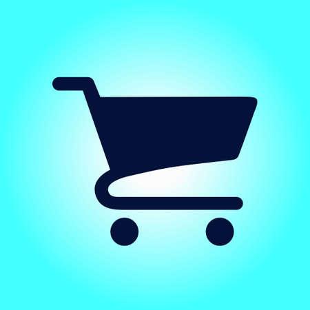shopping chart: Icon of shopping chart.