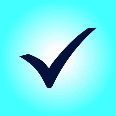 Check mark icon.