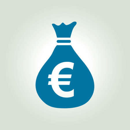 Money bag icon Illustration