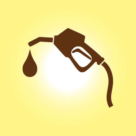 Gasoline pump nozzle.