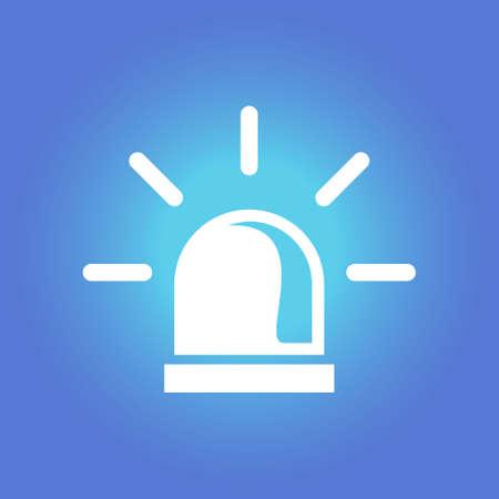 security lights: Single sign symbol.