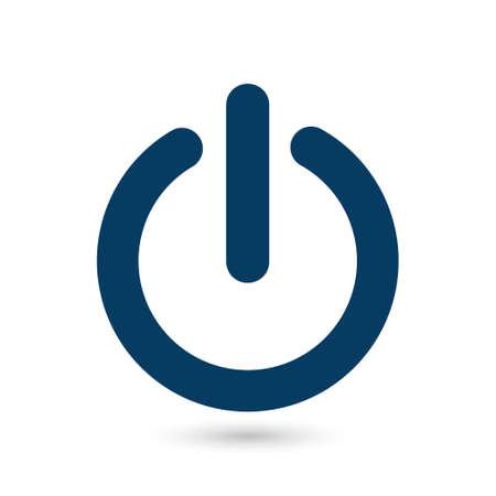 Power sign symbol.