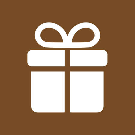 giftware: Holiday presents symbol.