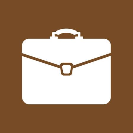 Briefcase sign symbol. Illustration