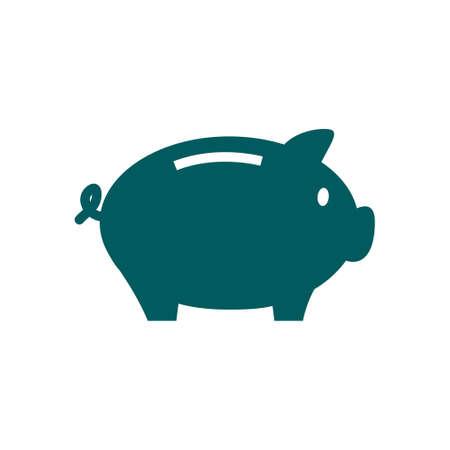 dolar: Piggy bank money. Hình minh hoạ